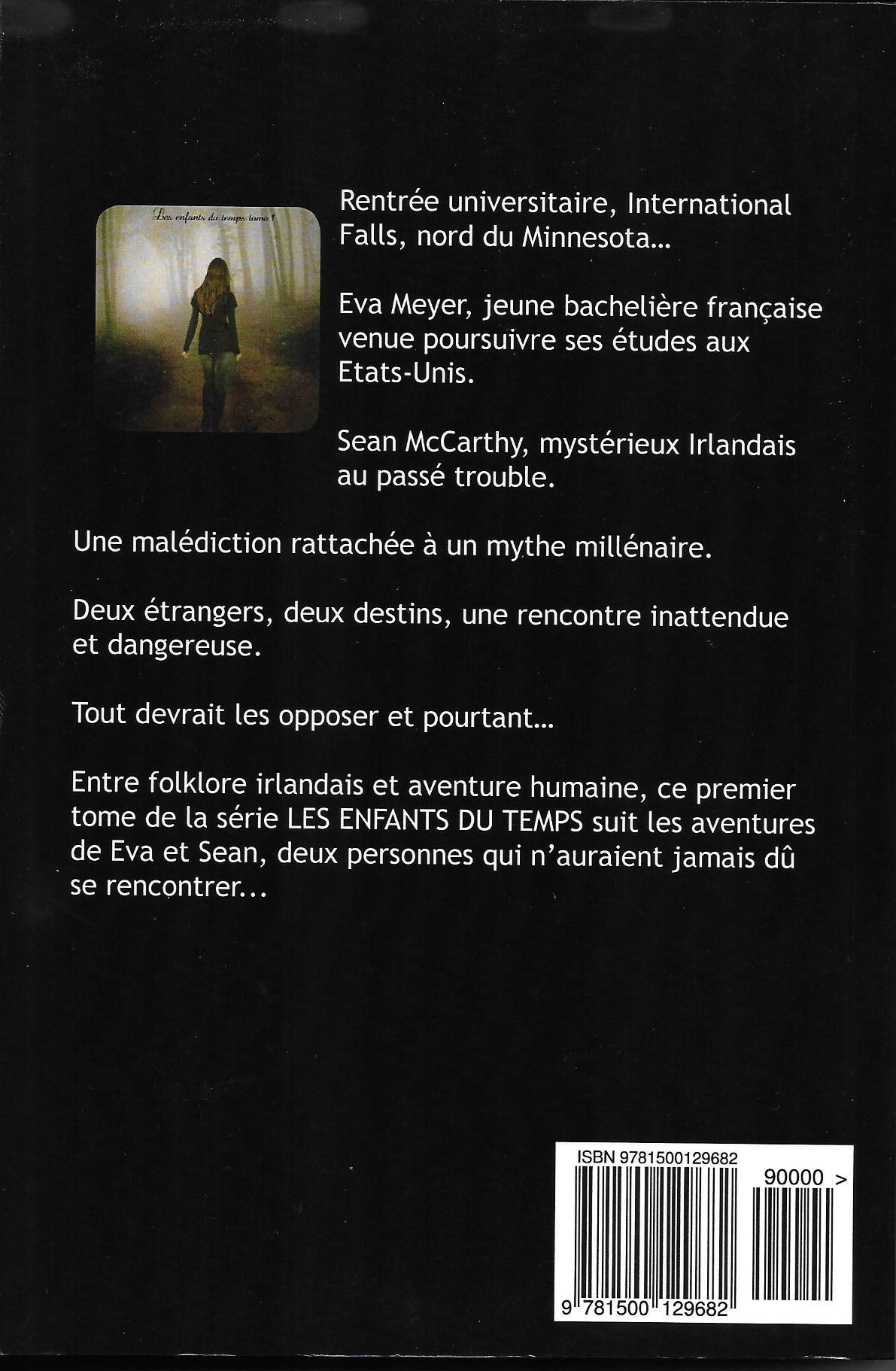 Les Enfants du Temps - Indécise (couverture verso)