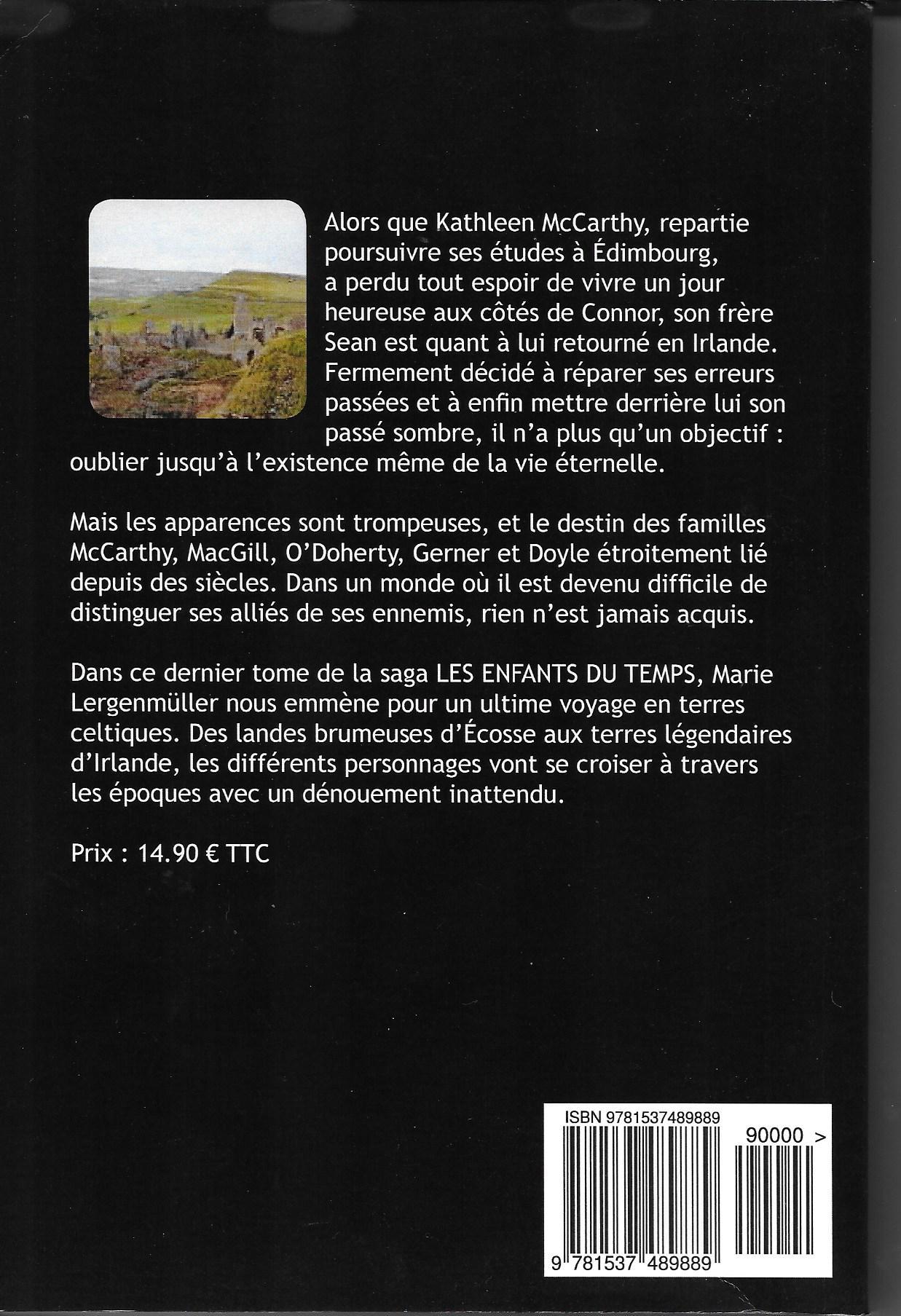 Les Enfants du Temps - Compromise (couverture verso)
