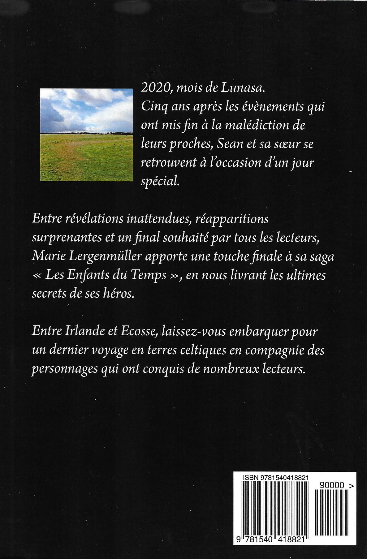 Les Enfants du Temps - Lunasa (couverture verso)